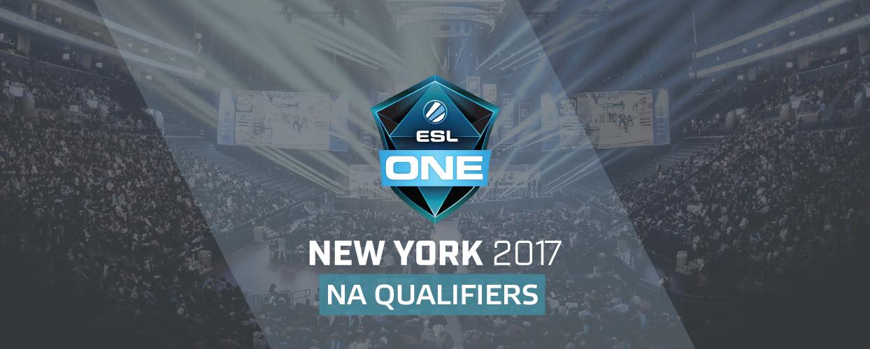 ESL One: New York 2017 - NA Qualifier