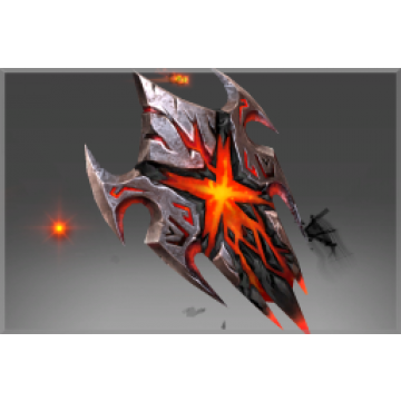 Corrupted Shield of the Burning Nightmare